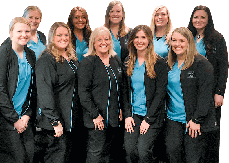 The Powell Dental Group team